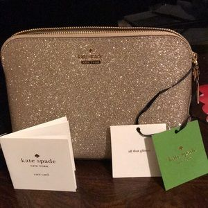 Kate Spade jewelry/cosmetic/knickknacks bag